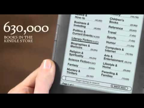 Amazon Kindle 3 - 3rd Generation Commercial / Review