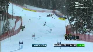 Bode Miller Amazing 2nd Place in Beaver Creek Gs 08-12-13