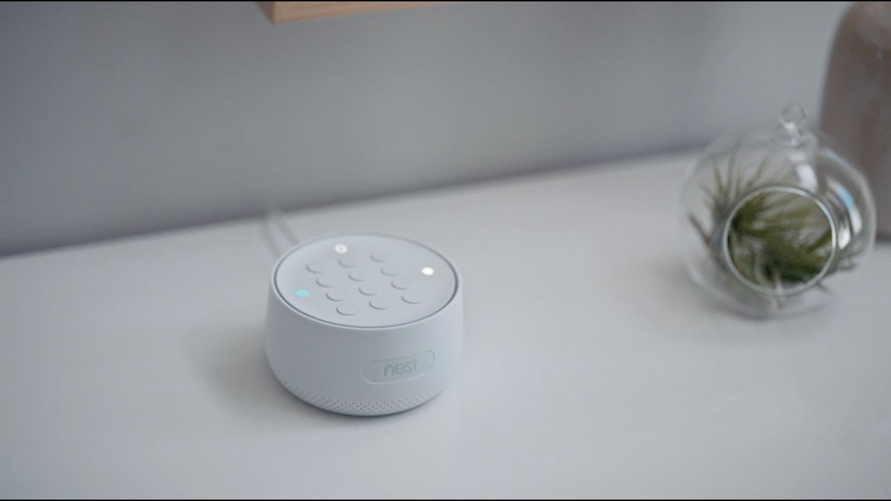 Meet the Google Nest Secure alarm system