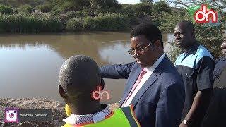 Waziri Mkuu akagua mradi wa maji wa Same-Mwanga-Korogwe