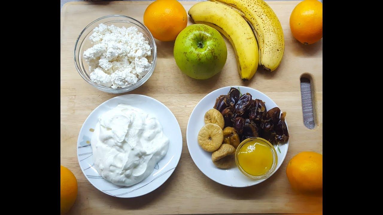 3 простых смузи для завтрака на основе творога