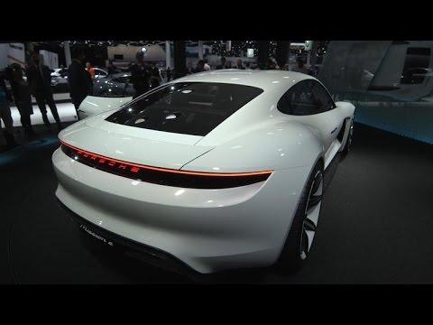 Car Tech - Porsche's Mission E previews an all-electric, Tesla-fighting Panamera