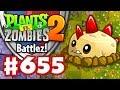 Battlez! Primal Potato Mine Strategy! - Plants vs. Zombies 2 - Gameplay Walkthrough Part 655