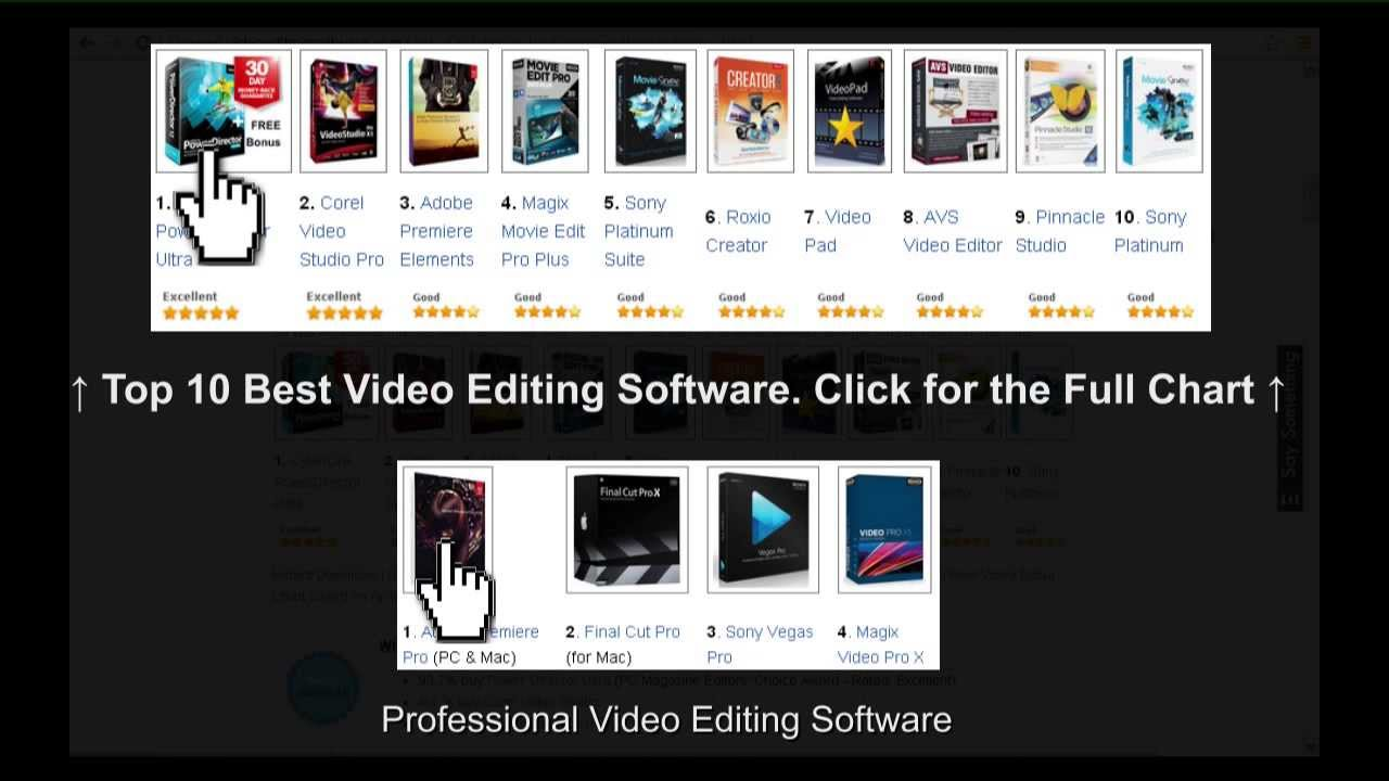 best movie editor software for pc