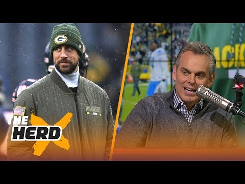 Colin explains what Aaron Rodgers returning to the field would mean for his legacy | THE HERD