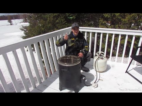 EASTER AT THE COTTAGE HOW TO COOK A TURKEY OUTSIDE!!!