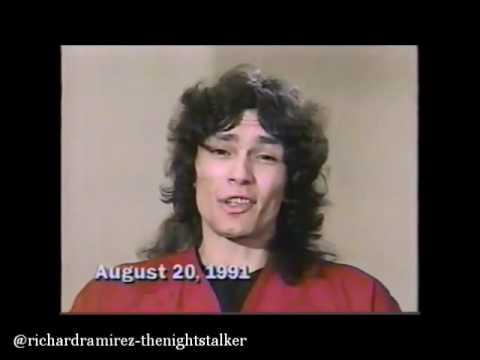 Richard Ramirez Speaking on The Maury Show In August 20,1991 (Rare footage)
