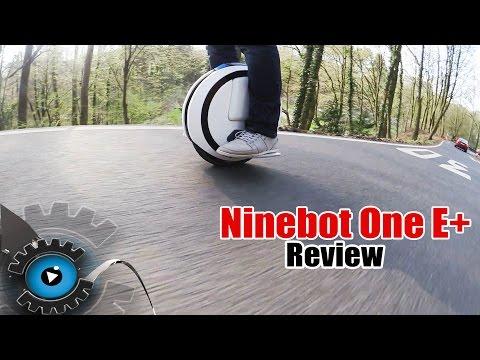 Ninebot One E+ Elektro Einrad Review/Test [Deutsch/German]