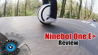 Ninebot One E+ Elektro Einrad Review/Test [Deutsch/German]
