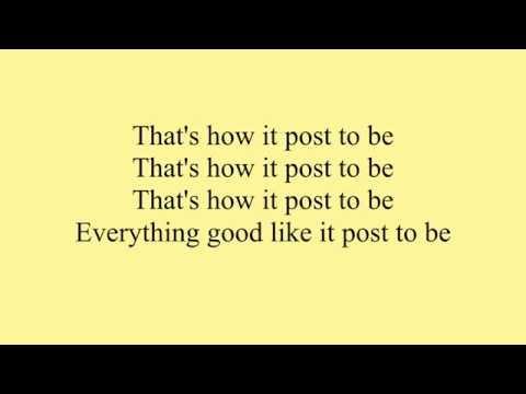 Omarion Ft. Chris Brown & Jhene Aiko - Post To Be LYRIC
