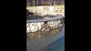 Искусственный водоём производства