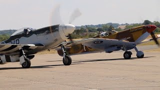 Duxford Flying Legends Air Show  England 2018 - Spitfire, Mustang & F 35