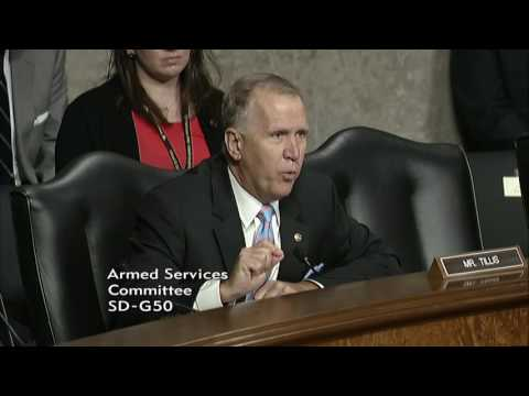 Tillis Speaks About Cybersecurity