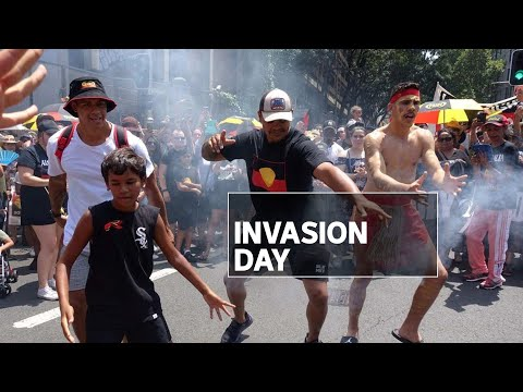 Tens Of Thousands Of Australians Mark 'Invasion Day' On The 26th Of January | ABC News
