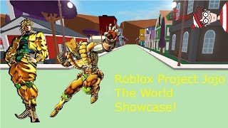 Roblox Project Jojo The World Showcase!