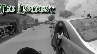 Car hits motorcycle with door | Rage