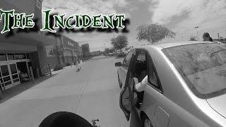 Car hits motorcycle with door | Rage
