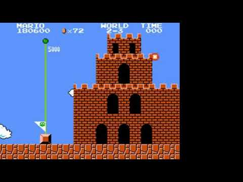 NES Longplay 250 Super Mario Bros a AN NAM NINTENDO
