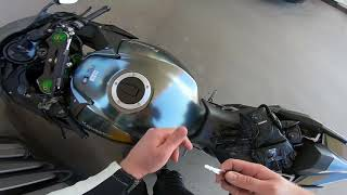 New Kawasaki Ninja H2 Carbon delivery and first ride 2018 !