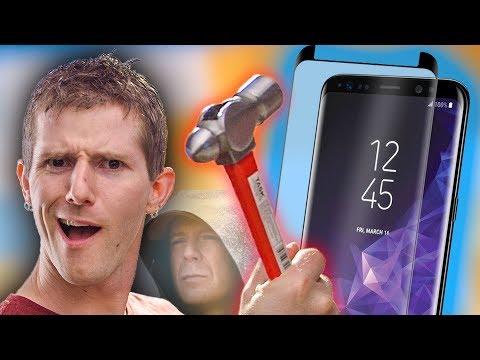 Samsung's UNBREAKABLE Screen!