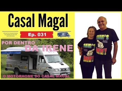 MOTORHOME IVECO DAILY 4912 | TOUR NO MOTORHOME | POR DENTRO DA VAN | CONHECENDO A VAN DO CASAL MAGAL