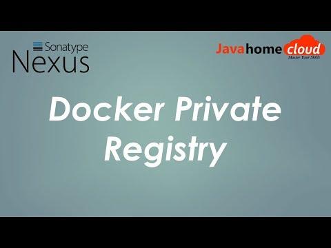 DevOps | Setting up docker private registry | Install Nexus | Java Home