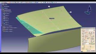 Catia V5   Catia V6: Class A - Creating a Deck Lid Step 2