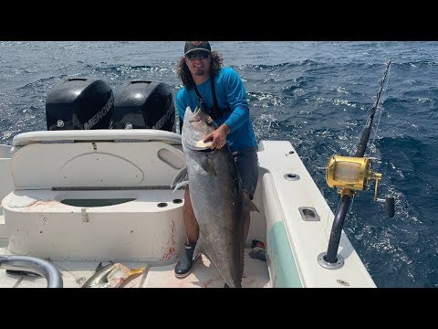 GIANT AMBER JACK In Texas! {Catch And Cook}