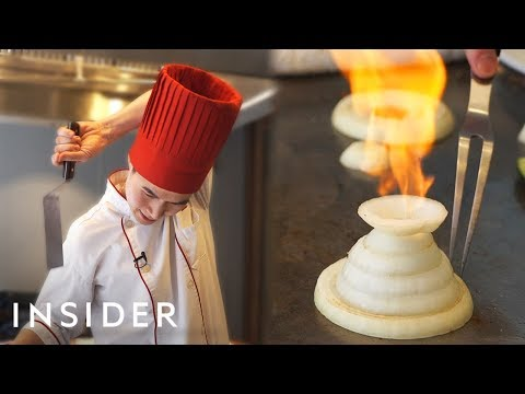 What It Takes To Be A Benihana Chef