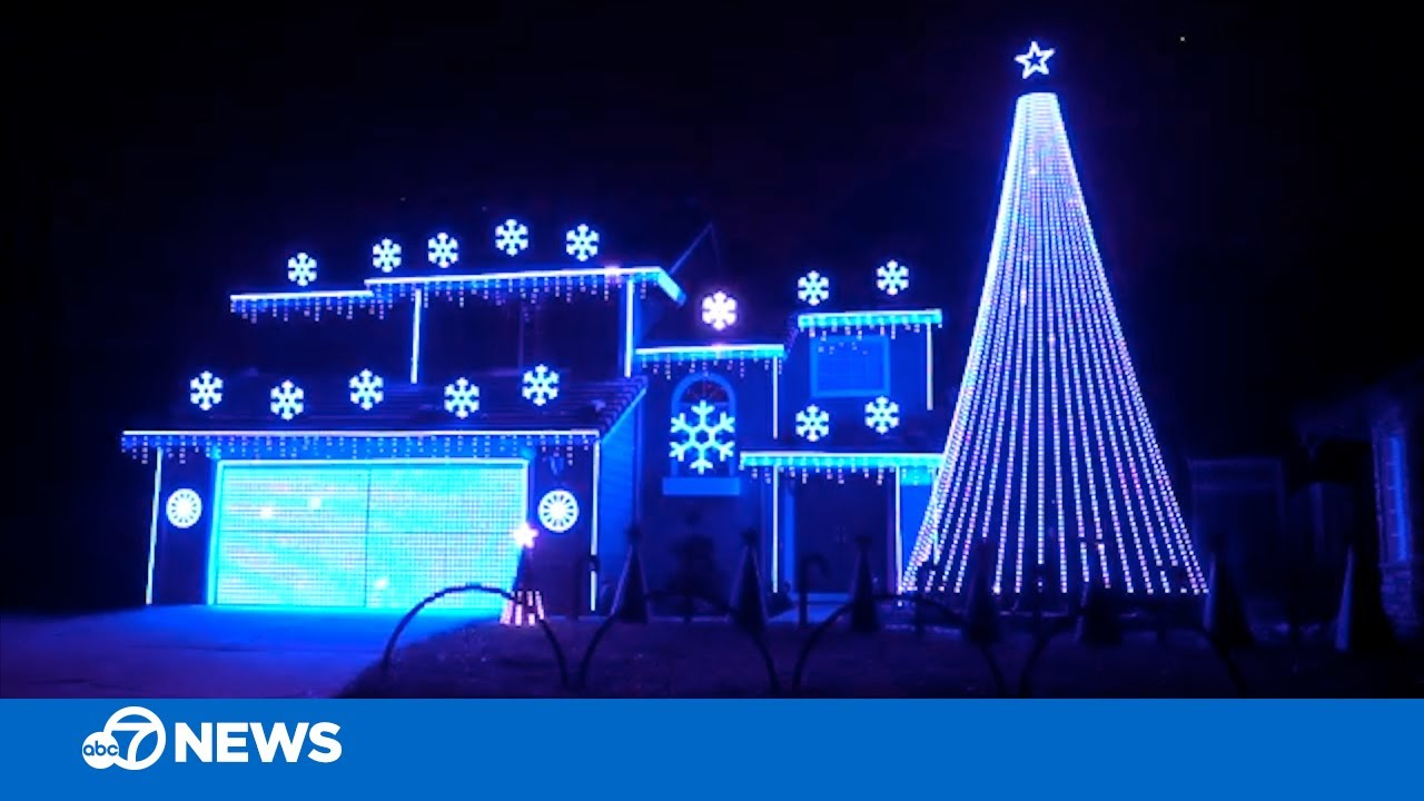 Epic Christmas light show titled