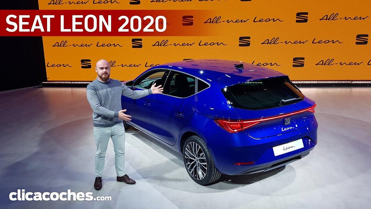 SEAT Leon 2020, ¿mejor que el nuevo Golf? | Primer contacto en español - Clicacoches.com