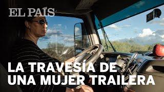 La travesía de una mujer trailera en México