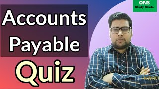 Accounts Payable Multiple Choice Questions Answers