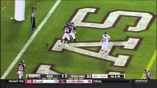 Texas A&m Vs Rice Highlights - 2014