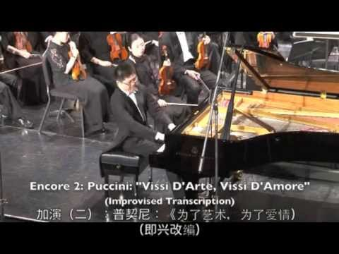 Puccini Vissi D'arte Piano Version / Peng-Peng Gong