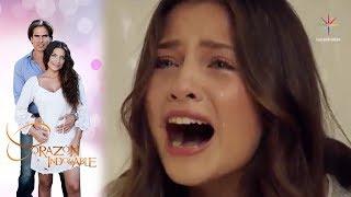 Elsa se entera de la muerte de Alfonso | Corazón indomable - Televisa