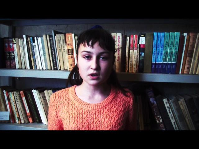 Изображение предпросмотра прочтения – ПолинаБаранова читает отрывок изпроизведения «Бородино» М.Ю.Лермонтова