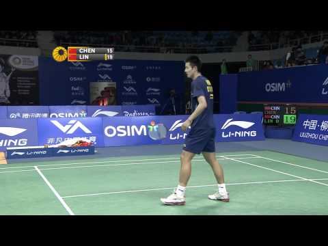 2011 OSIM BWF World Superseries Finals-MS-MS - Group B-Dan Lin vs. Long Chen