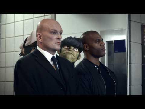 Gorillaz O2 Priority Walk Advert (HD)