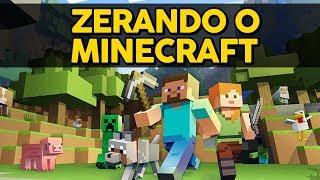ZERANDO O MINECRAFT EM UM SÓ VIDEO! (MEIA HORA DE VIDEO!)