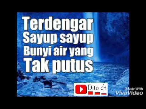 Lirik Lagu Anak - Air Terjun - Cipt. A. T. Mahmud