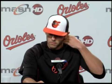 Jake Arrieta talks about his strong outing in the Orioles' opening day win