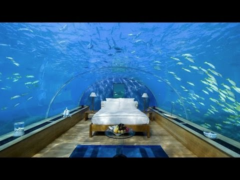 Maldives Rangali Islands Resort Underwater Hotel Room