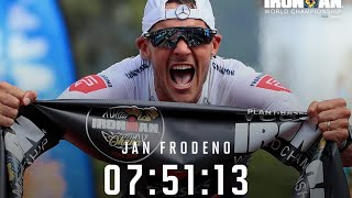 IRONMAN KONA 2019 WINNER AND NEW RECORD JAN FRODENO