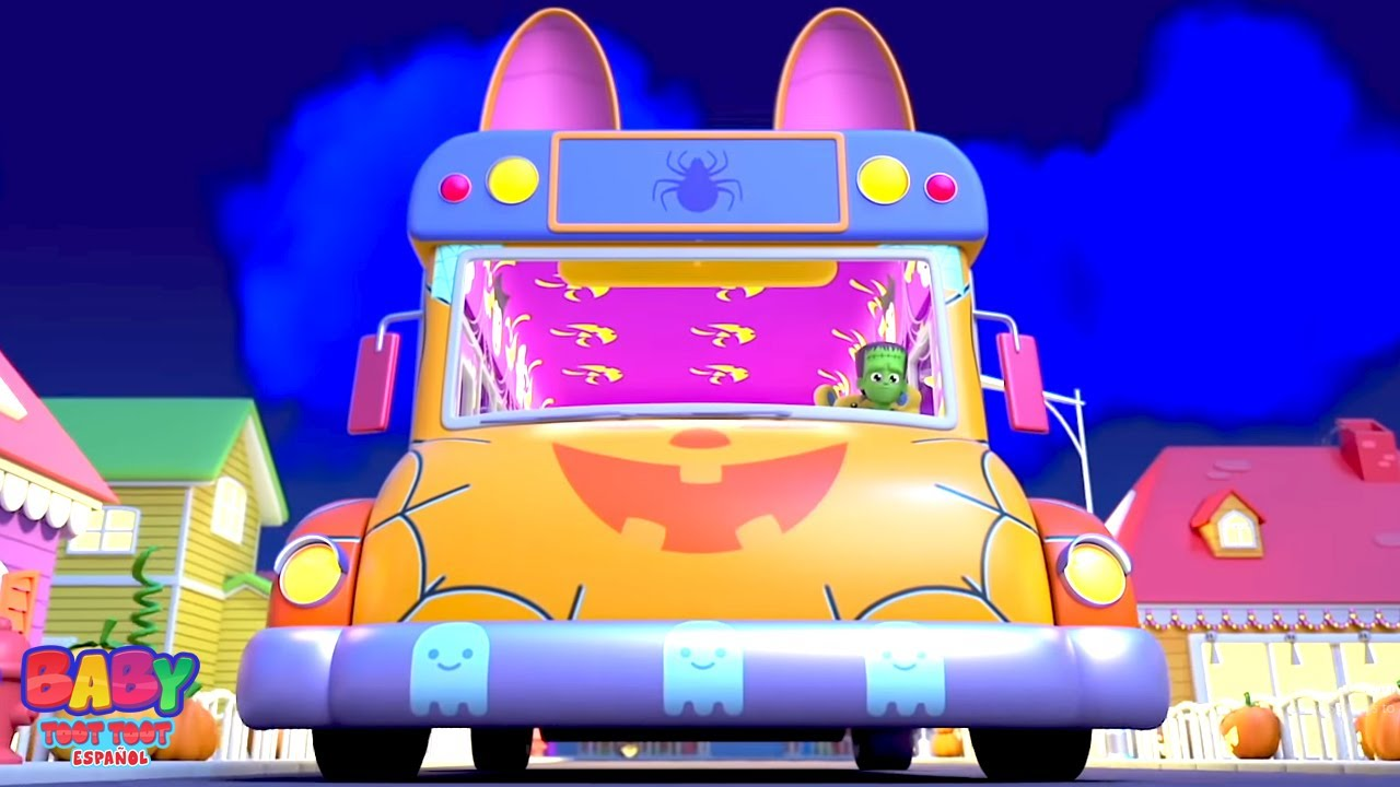 Download Ruedas en el bus   Dibujos animados de halloween   Kids TV Español Latino   Canciones Infantiles