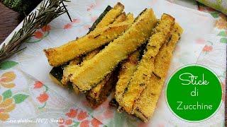 Stick di zucchine al forno - Ricetta sfiziosa e veloce!