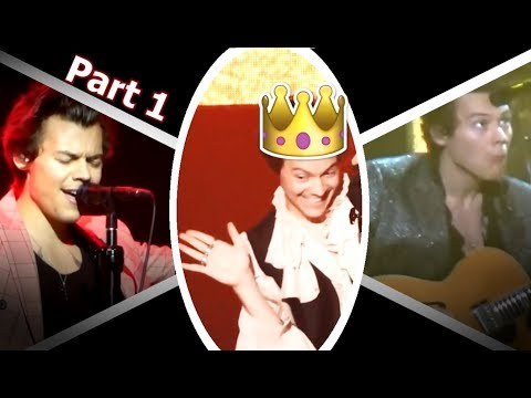 Harry Styles: Live On Tour - Dorky, hilarious and sexy moments {Part 1}