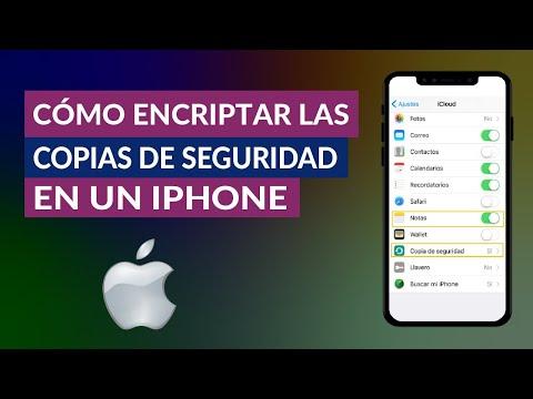 Cómo Encriptar Fácilmente las Copias de Seguridad en un iPhone iOS