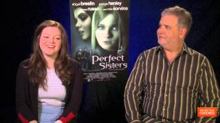 Perfect Sisters Interview With Georgie Henley and Stanley M. Brooks [HD]