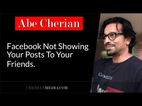 Facebook Not Showing Your Posts To Your Friends.